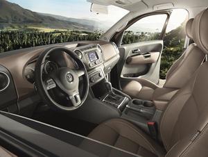 Foto Salpicadero Volkswagen Amarok-highline-edition Vehiculo Comercial 2014