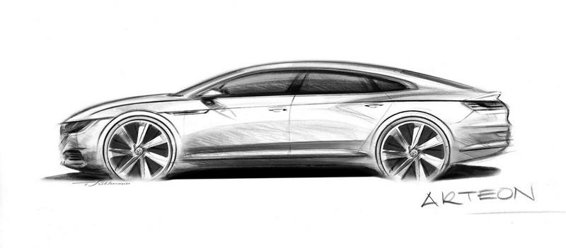 Volkswagen Arteon perfil