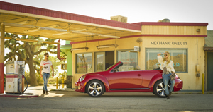 Foto Lateral Volkswagen Beetle Descapotable 2012