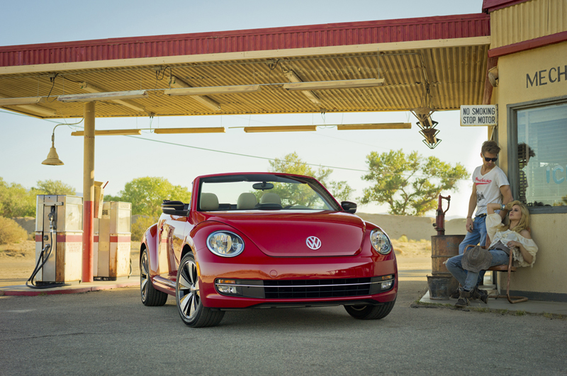Foto Delantera Volkswagen Beetle Descapotable 2012