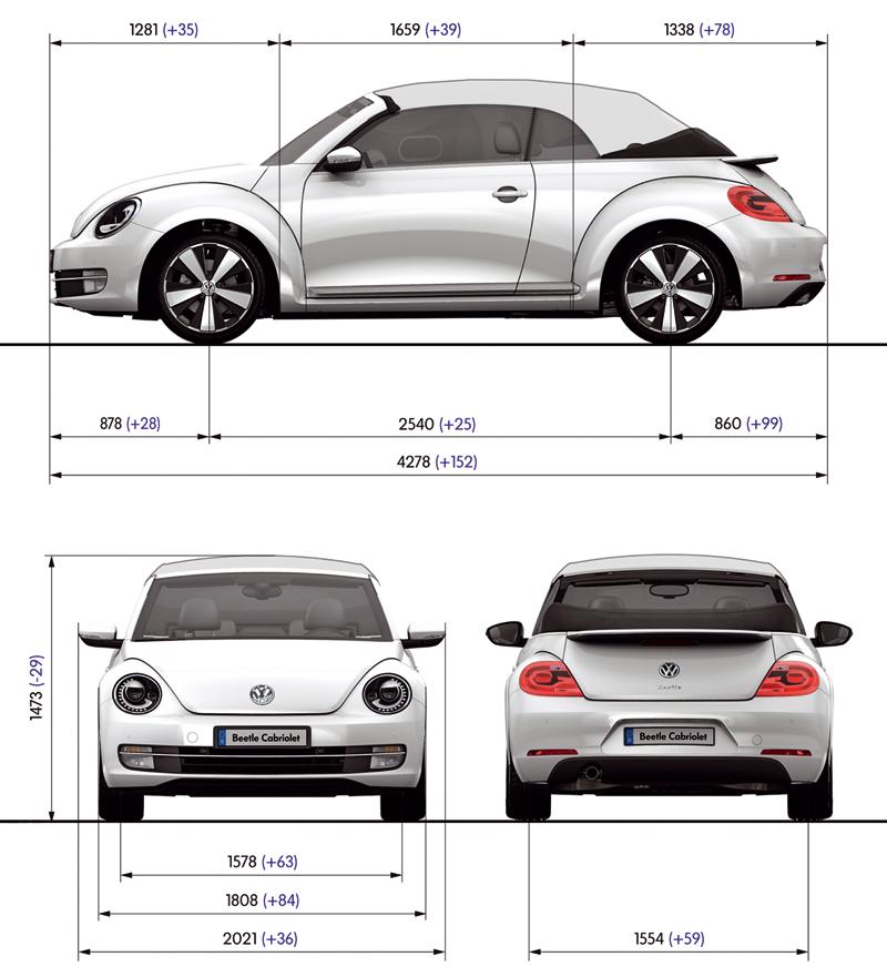 Foto Tecnicas Volkswagen Beetle Descapotable 2013