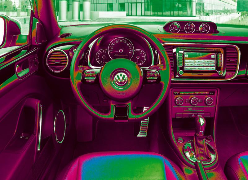 Foto Interiores Volkswagen Beetle Dos Volumenes 2011