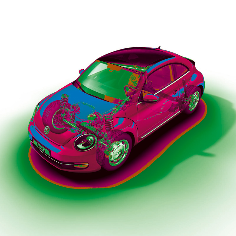 Foto Tecnicas Volkswagen Beetle Dos Volumenes 2011