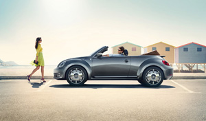 Foto Lateral Volkswagen Beetle-cabrio-karmann Descapotable 2014