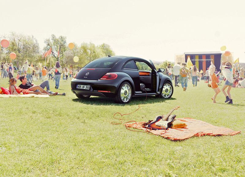 Foto Trasera Volkswagen Beetle-fender-edition Dos Volumenes 2012