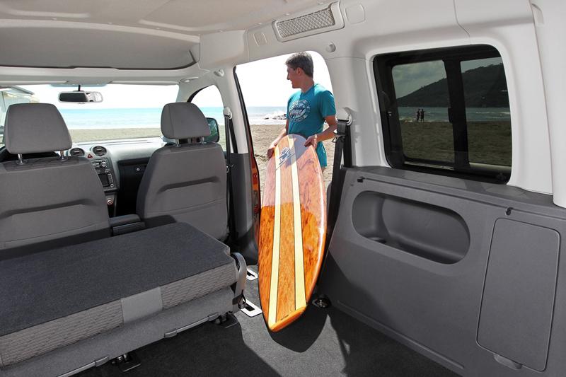 Foto Interiores Volkswagen Caddy Vehiculo Comercial 2010
