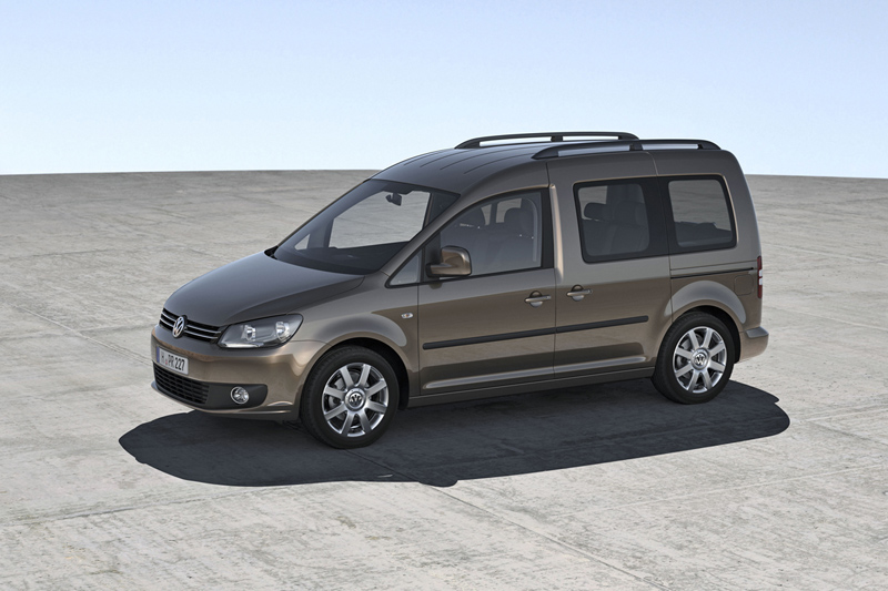 Foto Lateral Volkswagen Caddy Vehiculo Comercial 2010