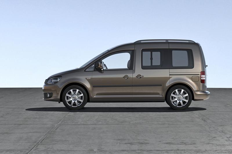 Foto Perfil Volkswagen Caddy Vehiculo Comercial 2010