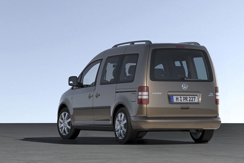 Foto Trasero Volkswagen Caddy Vehiculo Comercial 2010