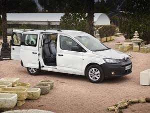 Foto volkswagen caddy 2021