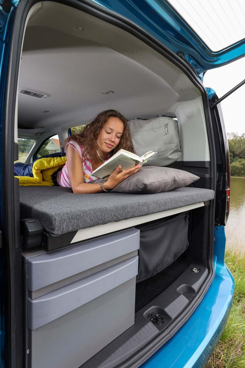 Foto Interiores Volkswagen Caddy Vehiculo Comercial 2021