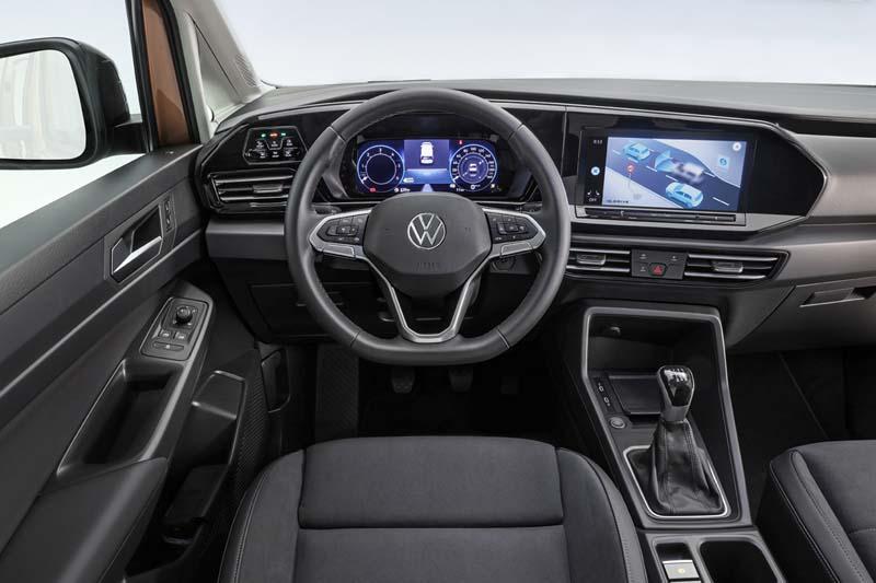 Volkswagen Caddy 2021, foto salpicadero