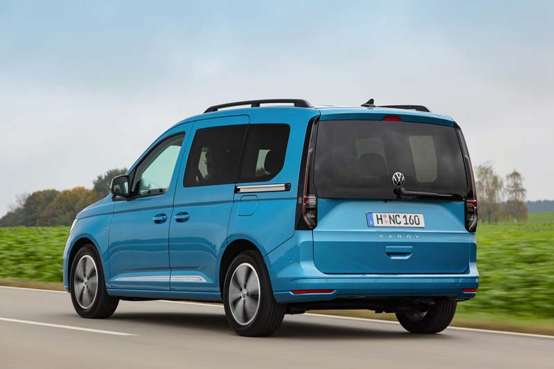 Foto Trasera Volkswagen Caddy Vehiculo Comercial 2021