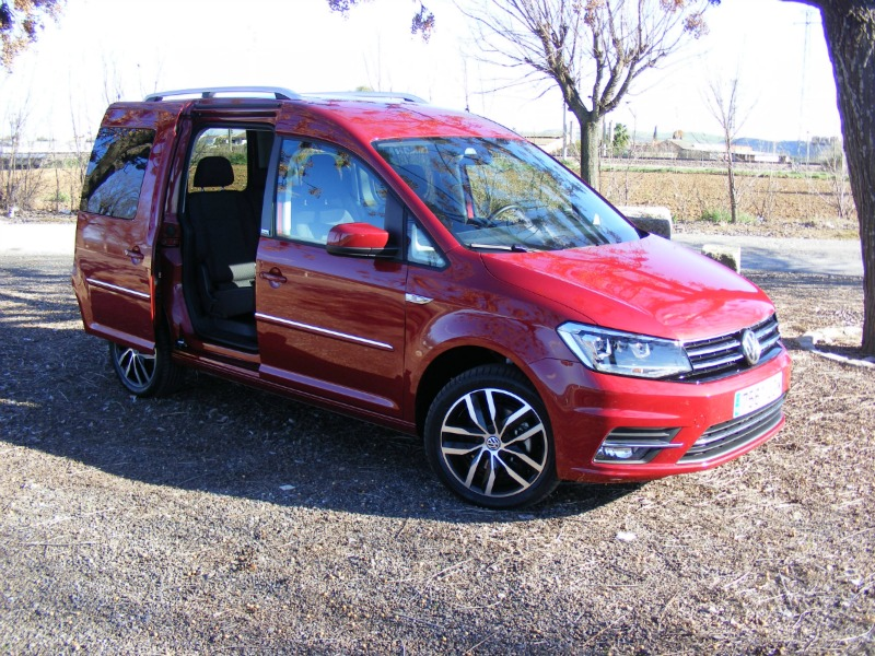 Foto Exteriores (3) Volkswagen Caddy-20-tdi-bluemotion Vehiculo Comercial 2016