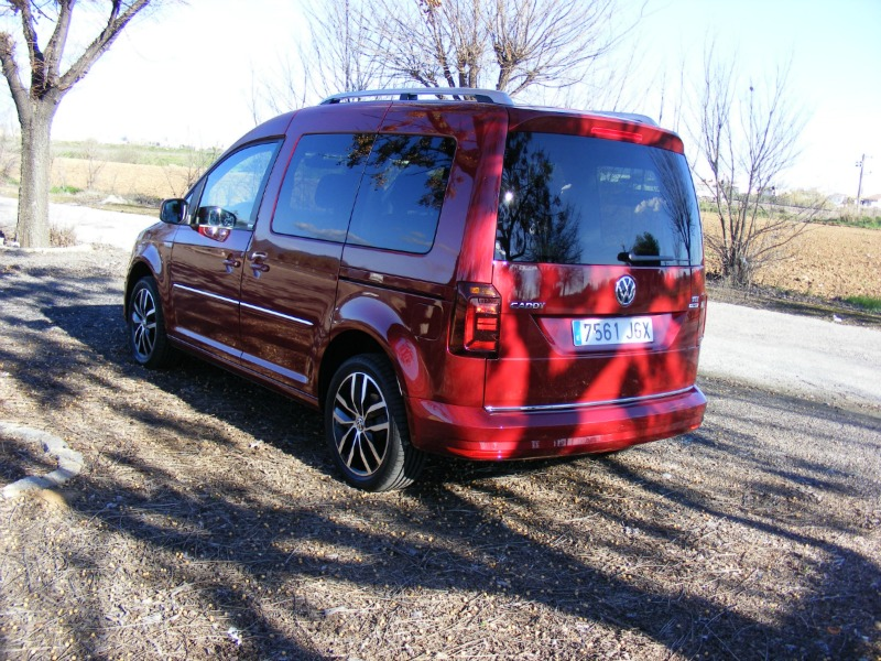 Foto Exteriores (8) Volkswagen Caddy-20-tdi-bluemotion Vehiculo Comercial 2016