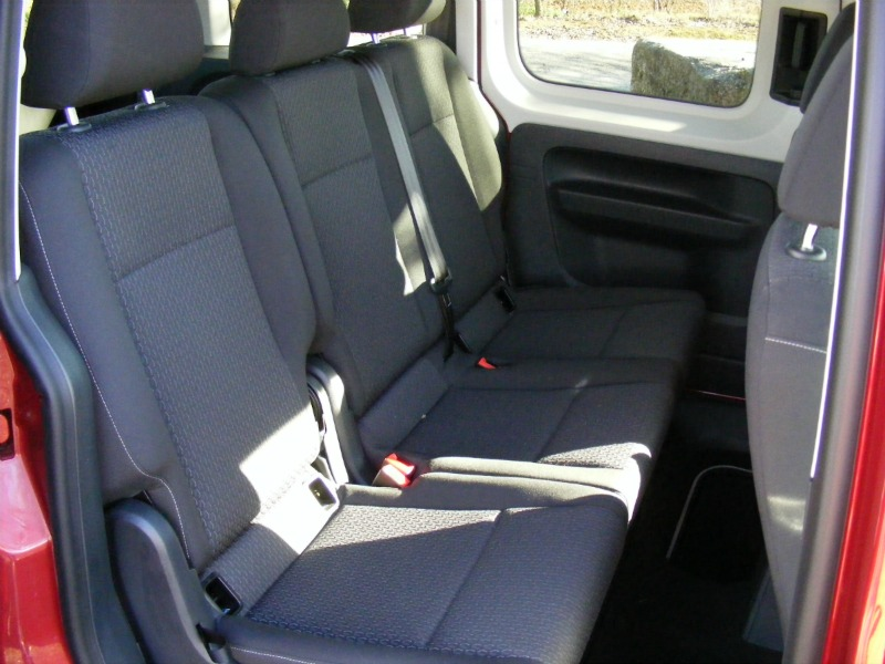 Foto Interiores Volkswagen Caddy 20 Tdi Bluemotion Vehiculo Comercial 2016