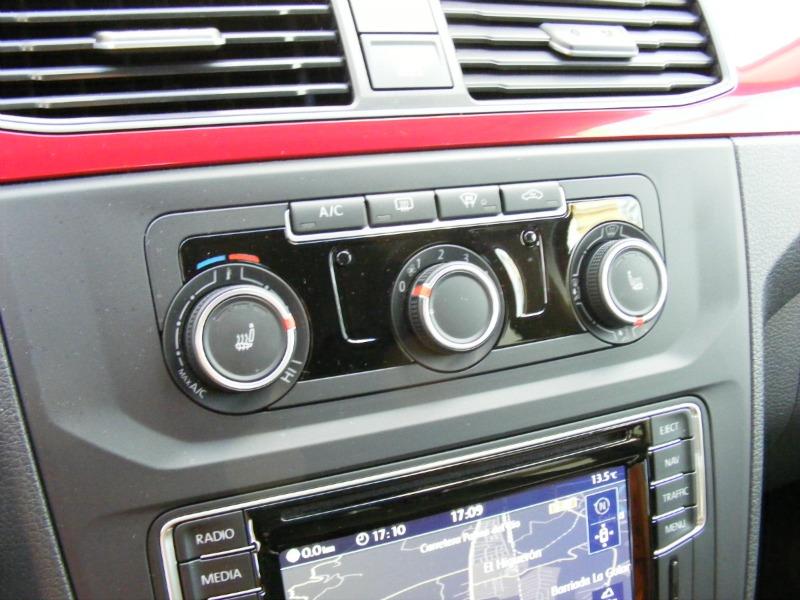 Foto Interiores (4) Volkswagen Caddy-20-tdi-bluemotion Vehiculo Comercial 2016