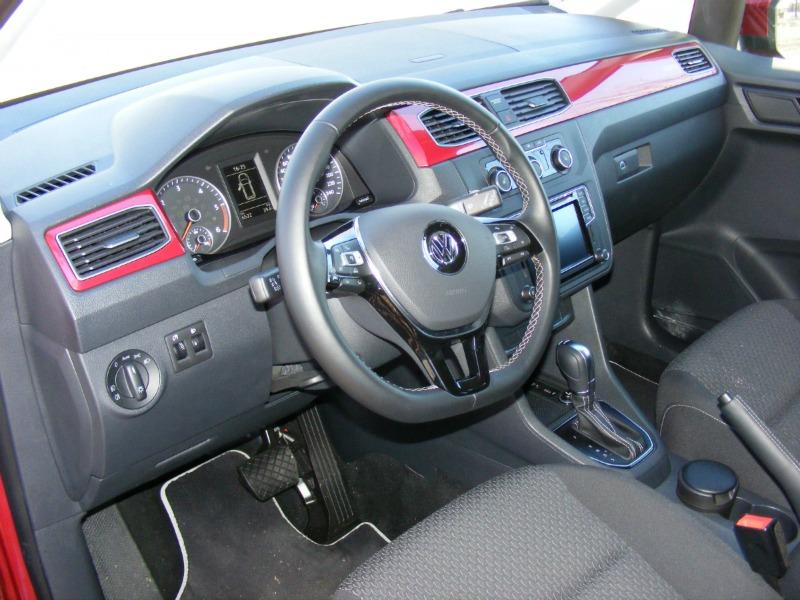 Foto Salpicadero Volkswagen Caddy 20 Tdi Bluemotion Vehiculo Comercial 2016