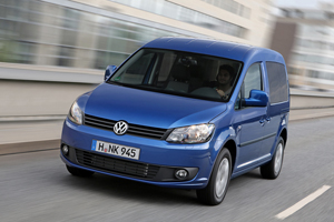 Foto volkswagen caddy-bluemotion 2013