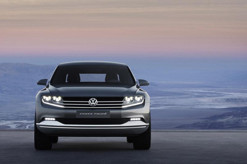 Foto Frontal Volkswagen Cross Cupe 2011