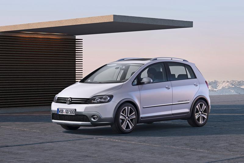 Foto Lateral Volkswagen Cross Golf Dos Volumenes 2010
