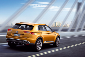 Volkswagen Crossblue-coupe 2013