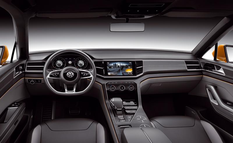 Foto Salpicadero Volkswagen Crossblue Coupe Suv Todocamino 2013