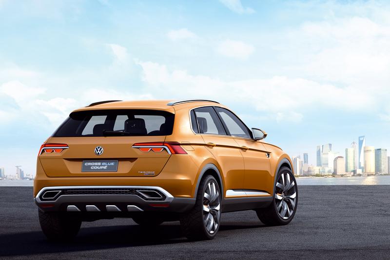 Foto Trasera Volkswagen Crossblue Coupe Suv Todocamino 2013