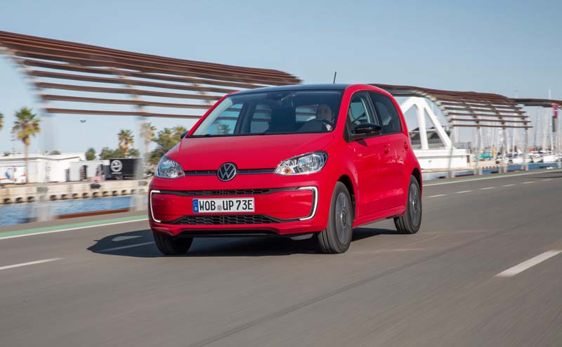 Foto Delantera Volkswagen E Up Dos Volumenes 2019