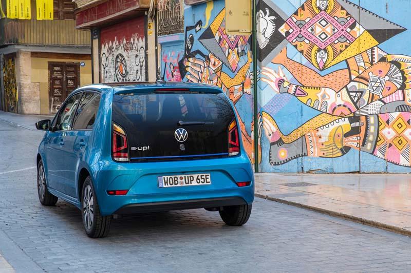 Volkswagen e-up! 2019, foto trasera