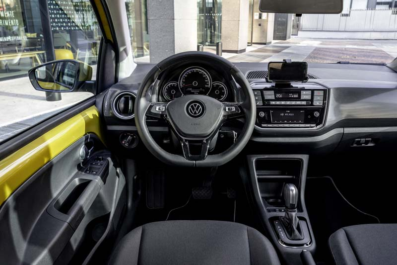 Foto Interiores Volkswagen E Up Dos Volumenes 2019