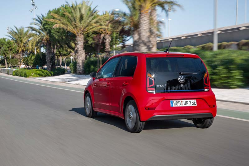Foto Trasera Volkswagen E Up Dos Volumenes 2019