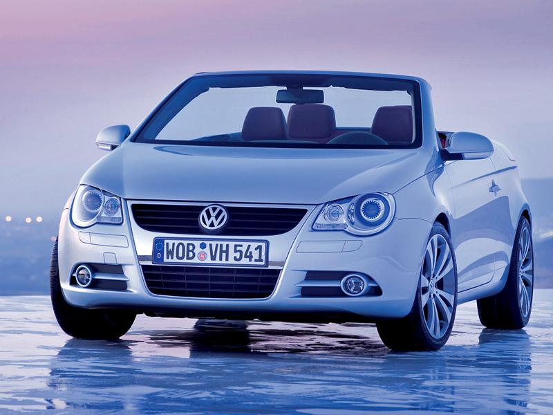 Foto Delantero Volkswagen Eos Descapotable 1999