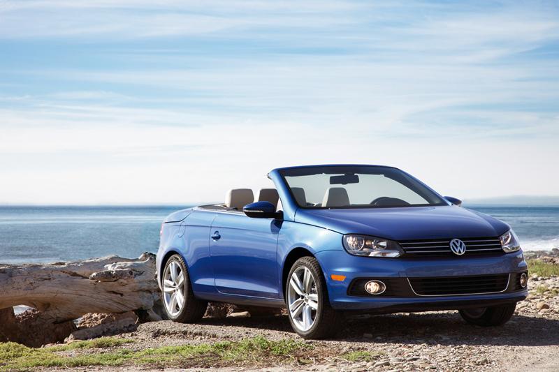 Foto Delantera Volkswagen Eos Descapotable 2011