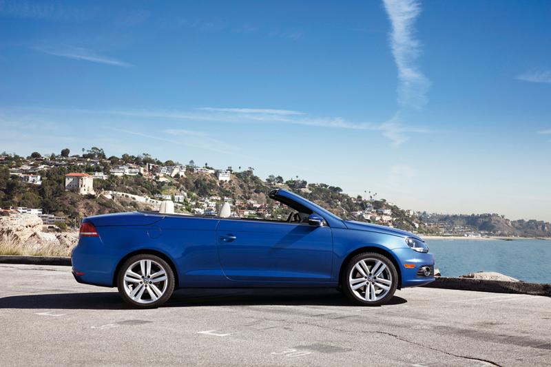Foto Perfil Volkswagen Eos Descapotable 2011