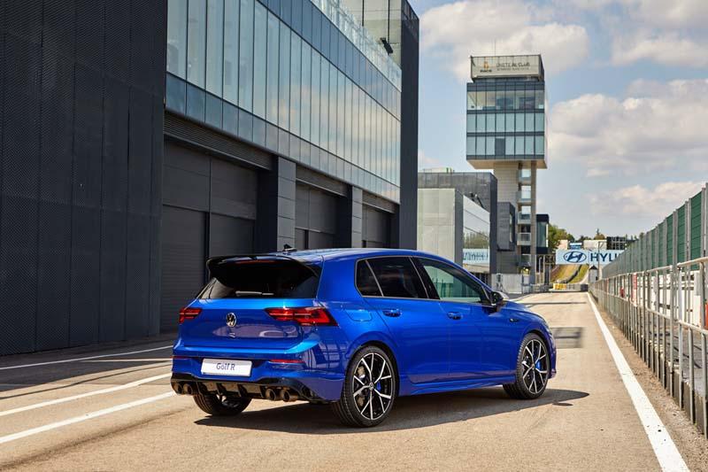 Foto Golf R Volkswagen Gama R 2021