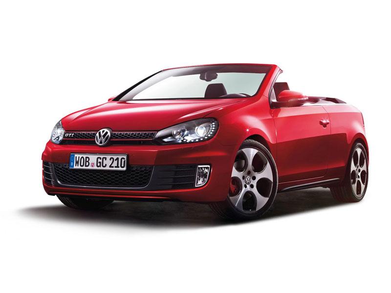 Foto Delantera Volkswagen Golf Descapotable 2012