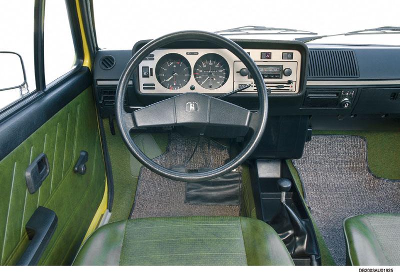 Foto Salpicadero Volkswagen Golf Dos Volumenes 1974