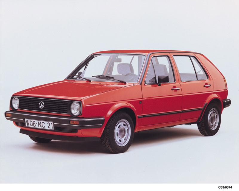 Foto Delantera Volkswagen Golf Dos Volumenes 1983