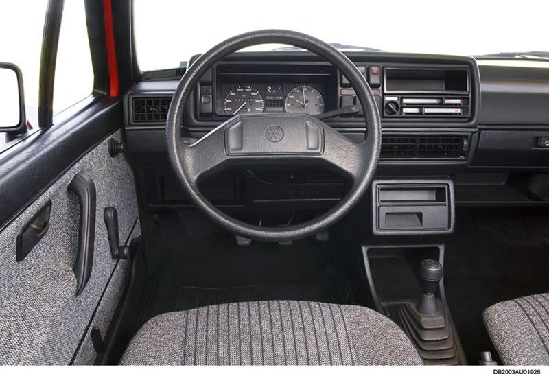 Foto Salpicadero Volkswagen Golf Dos Volumenes 1983