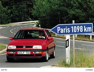 Foto volkswagen golf 1991