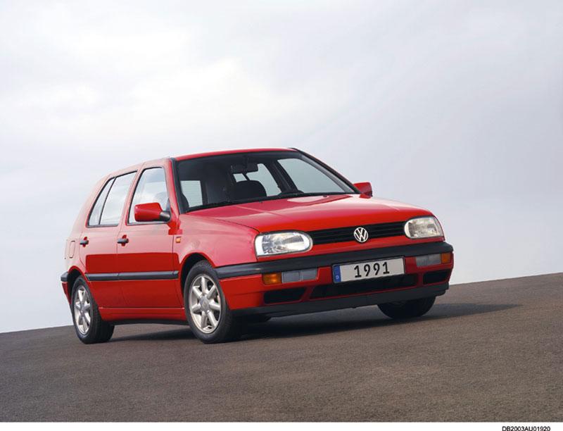 Foto Delantera Volkswagen Golf Dos Volumenes 1991