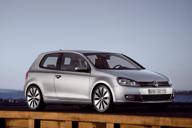 Foto Lateral Volkswagen Golf Dos Volumenes 2009