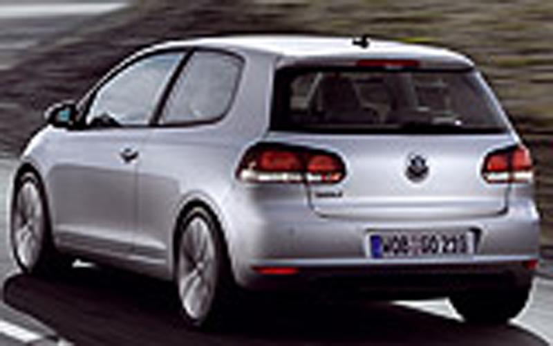 Foto Trasero Volkswagen Golf Dos Volumenes 2009