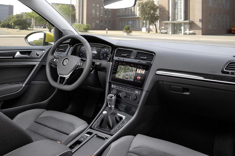 Foto Interiores Volkswagen Golf Dos Volumenes 2017