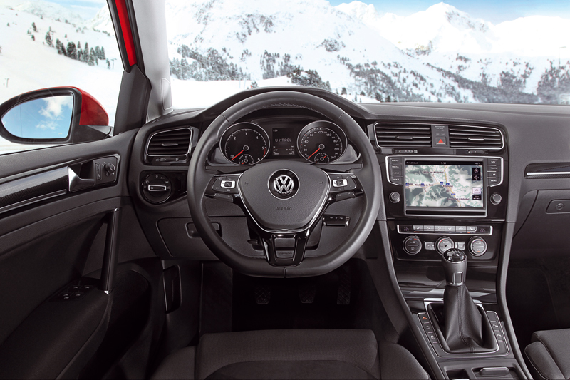 Foto Salpicadero Volkswagen Golf Suv Todocamino 2013