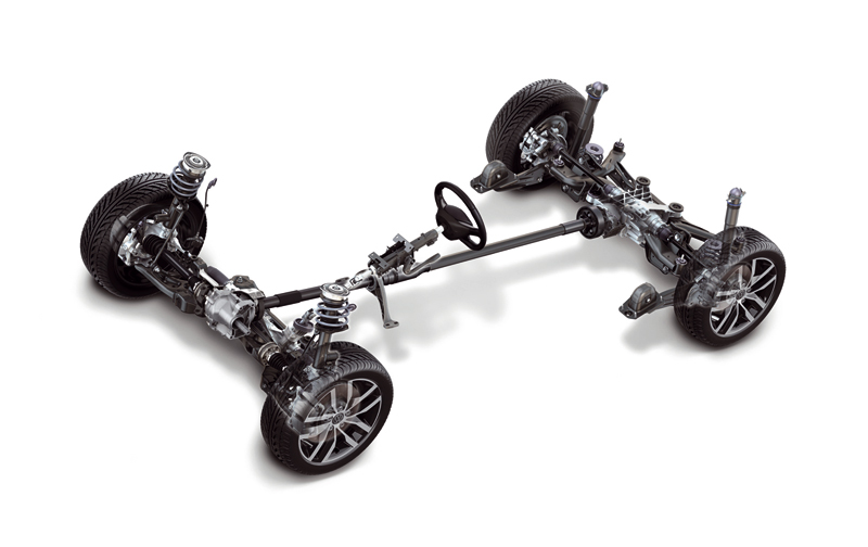 Foto Tecnicas Volkswagen Golf Suv Todocamino 2013