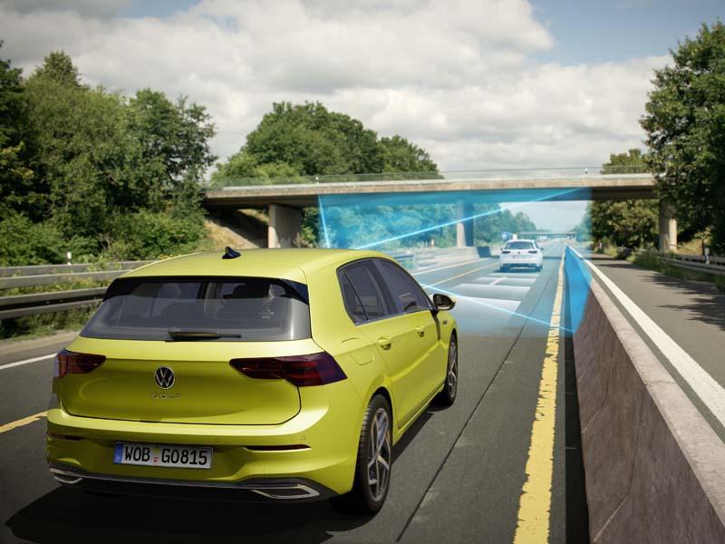 Volkswagen Golf 8, foto tecnología