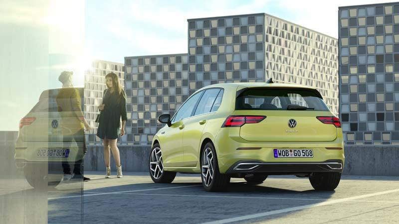 Foto Trasera Volkswagen Golf 8 Dos Volumenes 2020
