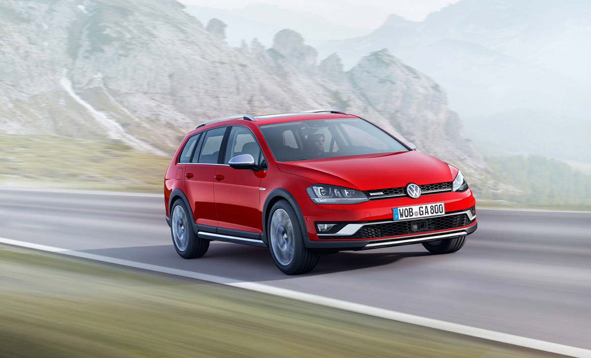 Volkswagen Golf Alltrack en el Salón de París 2014